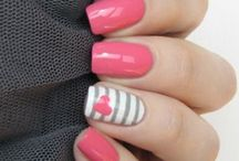Νύχια ροζ
