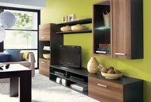 Obývacia stena / Atraktívna obývacia stena s veľa úložným priestorom, za akciovú cenu len 149 €. https://www.nabytokakuchyne.sk/obyvacia-stena-fargo