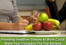 Organic Food at work  / Organic fruits & snacks at your desk.