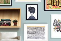 East End Home / At East End Prints in Spring 2016 we're thinking about making your home and interiors look amazing! This board will be the home of beautiful art, beautiful homes and great ideas to get that edgy, fun East End look.