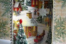 Рождественские поделки