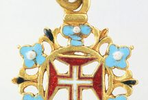 Order of Christ - Portuguese Jewels / Jewels of the portuguese crown with the symbols of the Order of Christ (the former Templar Order)