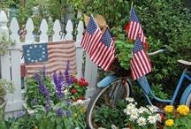 Patriotic Outdoor Decor