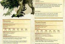 RP Monster Sheets