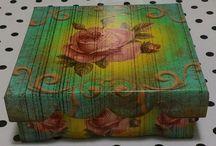 Minhas artes em caixas