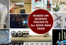 Iron Man Science / Hands-on K-12 science projects, resources, and connections for fans of Marvel's Iron Man series.  / by Science Buddies