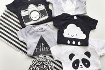 Baby clothing - Monochromatic