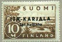 Ita Karjala Stamps