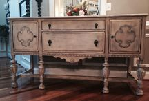 Antique Buffet  Makeovers