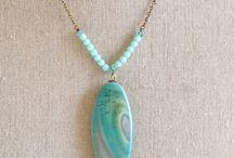 Joyas con ágatas / Jewelery with agates / Joyas con ágatas / Jewelery with agates