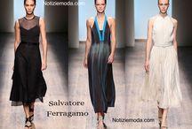 Salvatore Ferragamo / Salvatore Ferragamo collezione e catalogo primavera estate e autunno inverno abiti abbigliamento accessori scarpe borse sfilata donna.