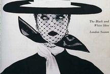 Black and white in fashion / ispirazioni sulla moda donna in bianco e nero
