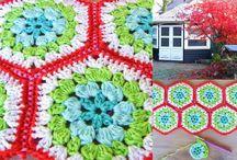 crochet :: hexagons