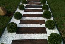 Linear Garden Path