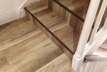 Hall, Stairs & Landings In Amtico / Client: Private Residence In Central London Brief: To supply & install Amtico to hall, stairs and landings