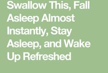 Natural Home Remedies for sleeping