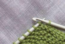 Knit / crochet tips