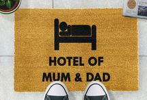 Quirky Doormat Collection