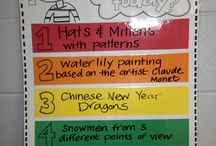 Art Ed - Classroom Organization / by Christopher Schneider