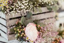 Country Wedding Ideas / A mix of ideas and themes for a rustic or country wedding