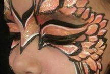 body, face painting / disegni su viso e corpo