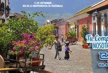 #MeGustaGuatemala / Los colaboradores TransExpress celebran a #Guatemala en su mes de independencia.