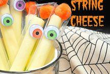 Ooey Gooey Halloween / All the cheesy treats you want for Halloween.