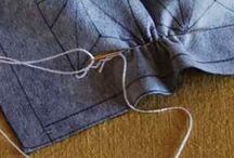 Sashiko, shibori and indigo / by Meghan O'Connor Yourkonis