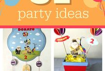 Up Party Ideas