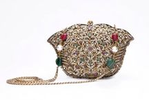 Bejewelled clutches available at desi-divas.com / Clutches, Jewells essembles of a treasure box