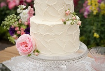 cakes / by Kari Young Floral Designs