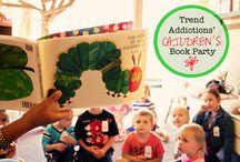 children's book party.