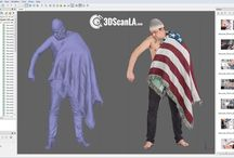 3D Scan Data / 3D Scan Data and ZBrush