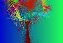 My digital art / musk colors