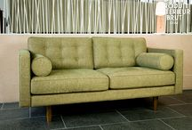 Sofas modern retro inspired / by Louise Waddington