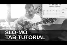 IF I HAVE TO GO (TOM WAITS) Acoustic Fingerstyle Guitar Solo Arrangement Sheet Tab Score / FREE TAB PREVIEW Instrumental Fingerstyle Guitar Solo Arrangement Gitarre Noten Download