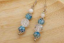 beaded earrings - Motley Mix Jewelry / by Yelena Shabrova