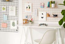 mur bureau