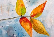 Landscape Watercolors by Lynne Furrer / Original watercolors and reproductions by Lynne Furrer www.watercolorbloom.com / by Watercolor Bloom, Lynne Furrer Artist