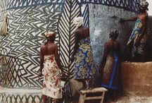 afro style / african patterns