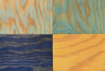 Plywood dyed (lasert/beiset)