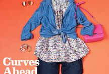Curvy Girl / Thanks to Birmingham Magazine and Southern Femme for inclusion in this great spread on dressing for your shape!