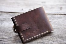 Handmade Wallets / handmade leather wallet , Hand stitched leather wallet