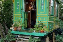 Train houses