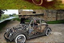 unusual cars, trucks and bike's