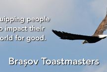 Toastmasters / These are graphics I've made for our Toastmasters club.