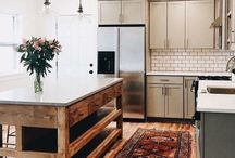 Kitchen lights and Rugs
