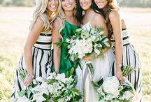 Bridesmaid Dresses / Your best girls in their best dressed looks for your wedding day. Our favorite bridesmaid looks in one place depending on your personal style and wedding day vision. She'll totally wear this dress again.