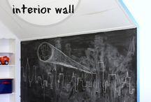 Murs En Tableau Noir