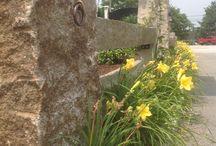 Hand Split and Original Reclaimed Granite Posts / Using hand split and original reclaimed granite posts in your landscape.